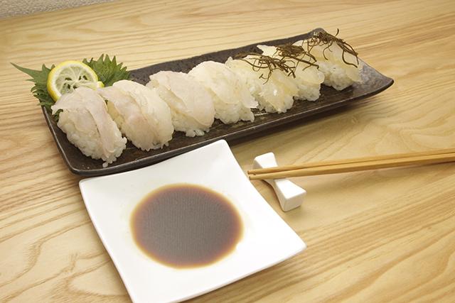 ヒラメ寿司