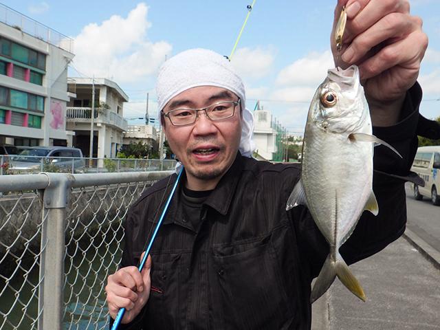 日本全国☆釣り行脚~『ギンガメアジ』~沖縄県沖縄市/泡瀬の水路産