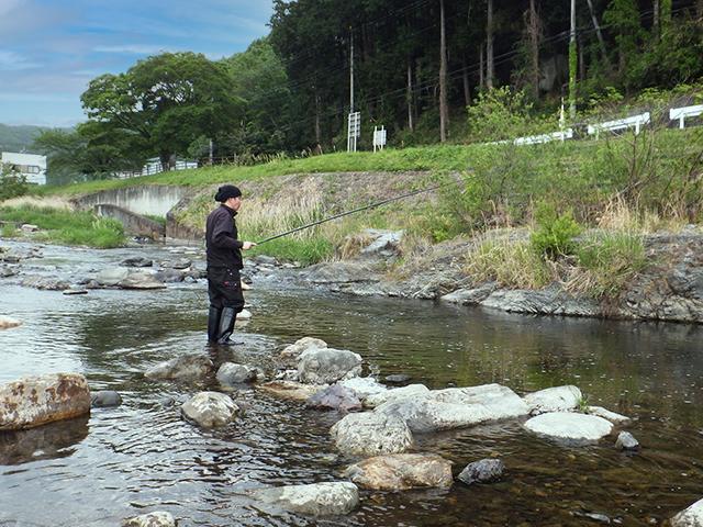 『アブラハヤ』~群馬県桐生市/桐生川産~日本全国☆釣り行脚