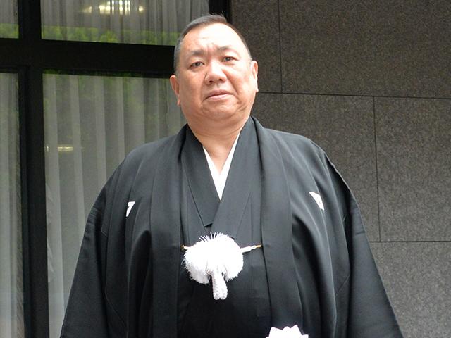 五代目山健組・西川良男若頭(C)週刊実話 無断転載禁止