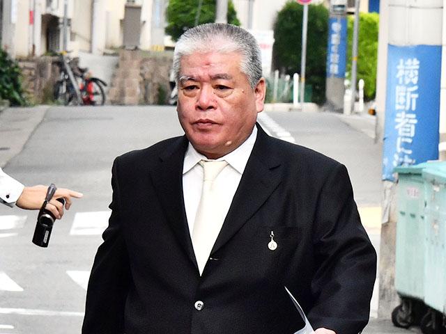 銃撃された神戸山口組山健組・與則和若頭 (C)週刊実話 無断転載禁止